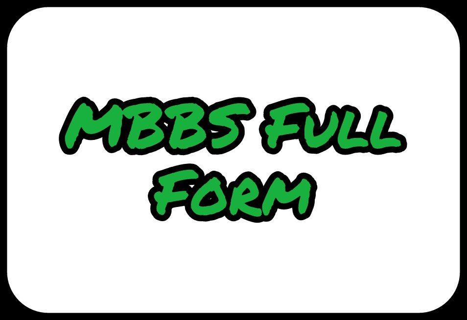 mbbs-full-form-7336143