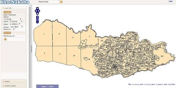 झारखंड खसरा खतौनी नक्शा 2020