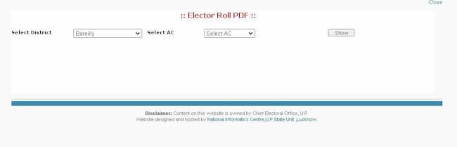 उत्तर प्रदेश 2021 वोटर लिस्ट में नाम कैसे देखें
