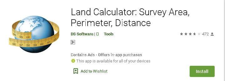 जमीन (खेत) नापने वाले एप्प डाउनलोड करें? | 5 Best Area Map Calculator App