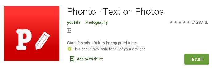 फ़ोटो पर नाम लिखने वाले एप्प डाउनलोड करें? | 5 Best Photo Name Maker App List