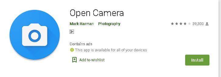 एंड्राइड मोबाइल के लिए कैमरा एप डाउनलोड करें. Top 10 Mobile Camera App For Android