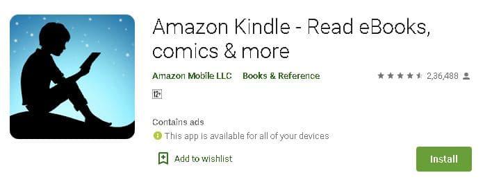 मोबाइल पर किताबे पढ़ने वाले एप डाउनलोड करें.10 Best free eBook Reader App for Android
