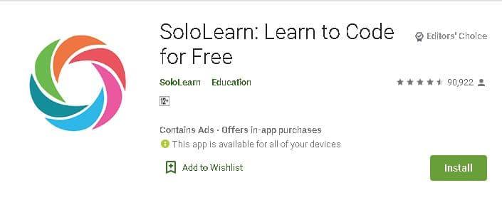 प्रोग्रामिंग करने के लिए सबसे अच्छे कोडिंग एप डाउनलोड करे. Top Programming Coding App