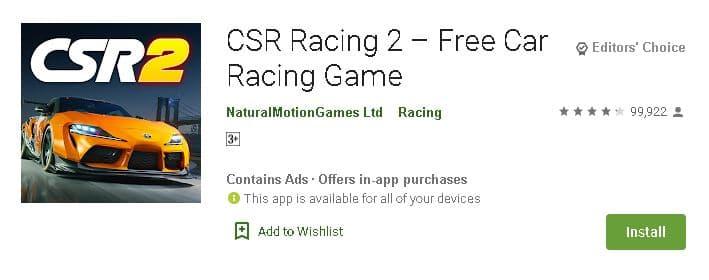 सबसे अच्छे 10 रेसिंग गेम एंड्राइड एप डाउनलोड करें. Top 10 Racing Game Android App