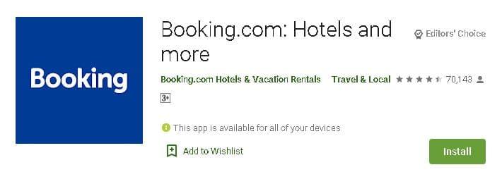 होटल बुक करने वाले एप डाउनलोड करें. Best Hotel Booking App